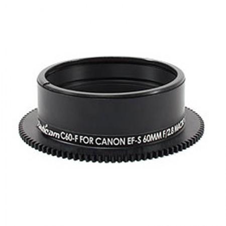 Nauticam Focus Gear C60-F for Canon EF-S 60mm f/2.8 Macro USM