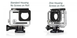 GoPro Housing Differences