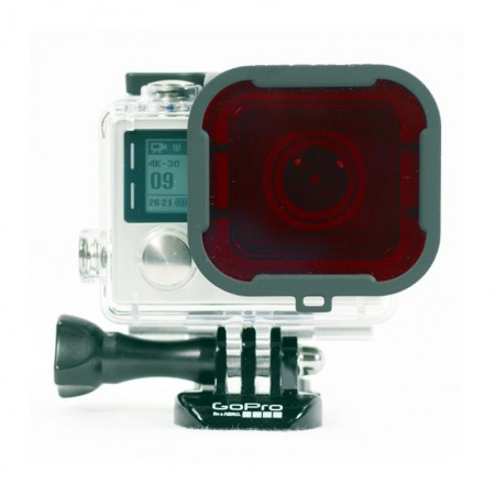 Polar Pro Red Filter 2.0 for GoPro Hero4/3+ (dive housing)