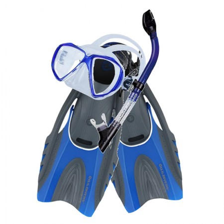 "Aqualung/Scubamax ""dry"" snorkeling package"