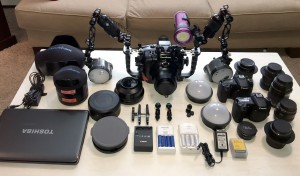 Camera gear packing tips