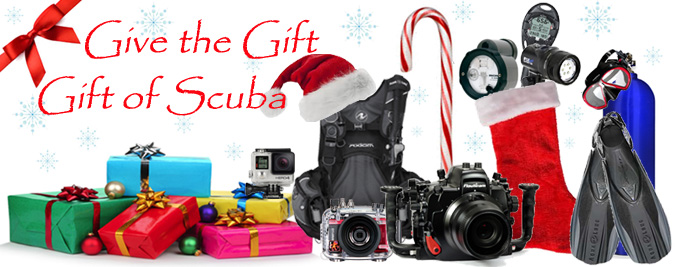 give the gift of scuba