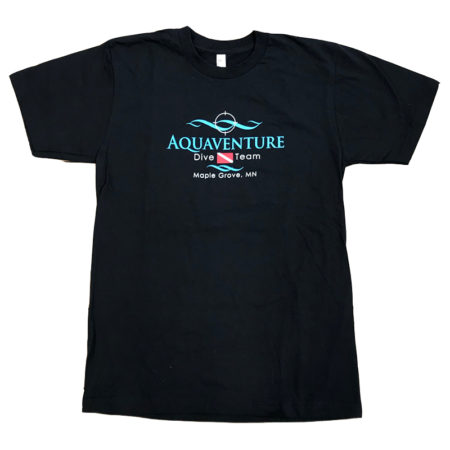 aquaventure dive team t shirt