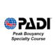 PADI peak buoyancy specialty