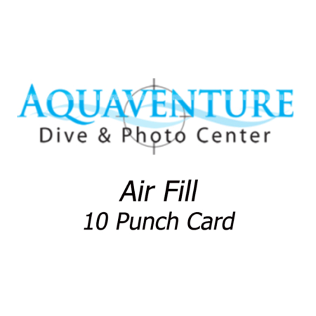 air fill 10 punch card